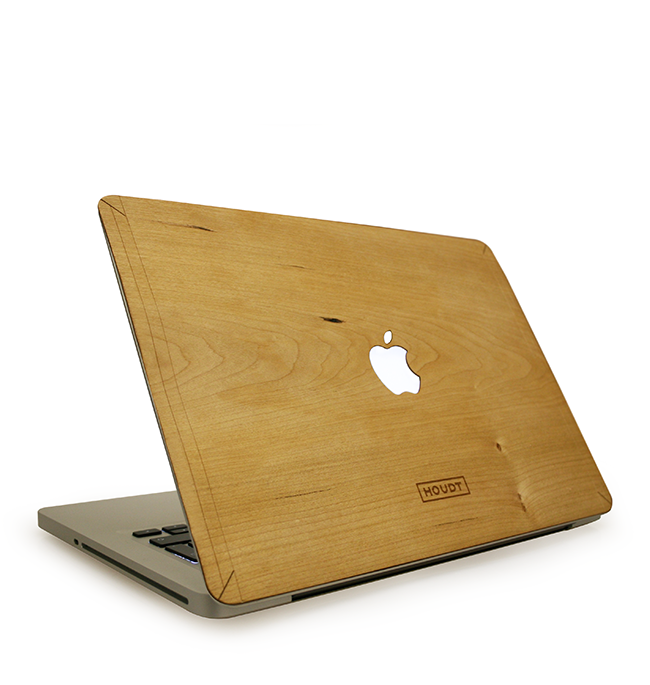 "12"" MacBook Cherrywood Skin"