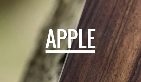 Apple iPhone and iPad Wooden Covers