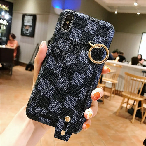 Renee™ Luxury Wrist Strap Phone Cases for iphone