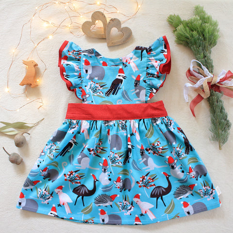 Polly pinafore dress
