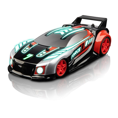Techno Racer LED RC Music Car - Red