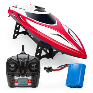 Velocity Boat - Red
