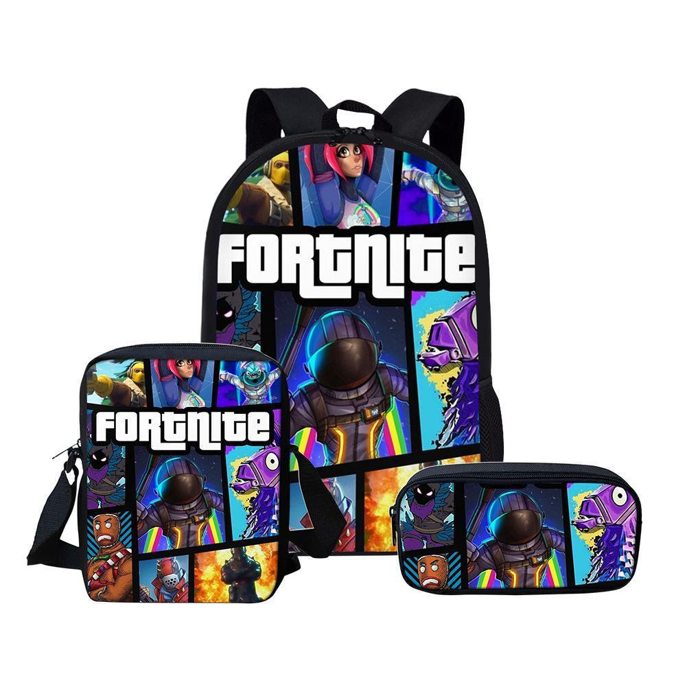 Fortnite Student 3 Piece Set