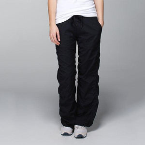 Casual Stretchy Eco-friendly Bamboo Straight Pants