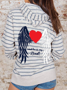 Angel Wings Hooded Sweatshirt