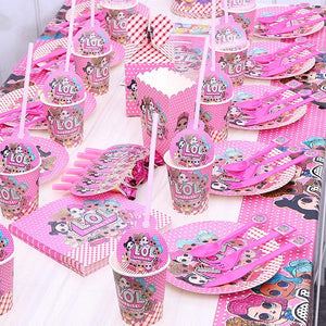 LOL Surprise! Fancy Girls Birthday Party Sweet Decorations