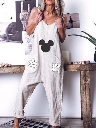 Mickey Mouse Loose Jumpsuit