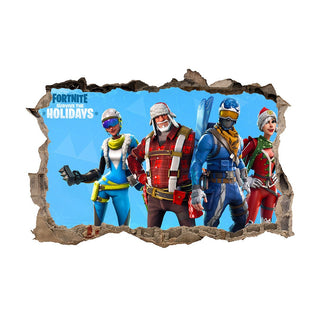 Fortnite Wall Decoration Stickers