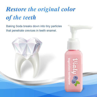 Natural Viaty Toothpaste Stain Removal Whitening Toothpaste