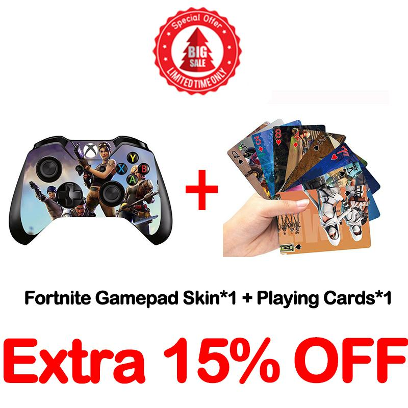 Fortnite Gamepad Skin -- One Piece+Playing Cards
