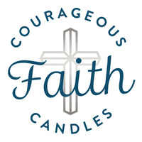 Courageous Faith Candles