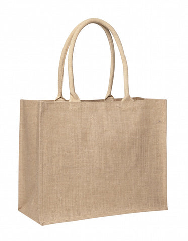 All Natural Laminated Jute Supermarket Bag