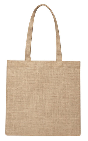 Jute Simple Shoulder Bag