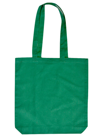 Green Cotton Tote Bag