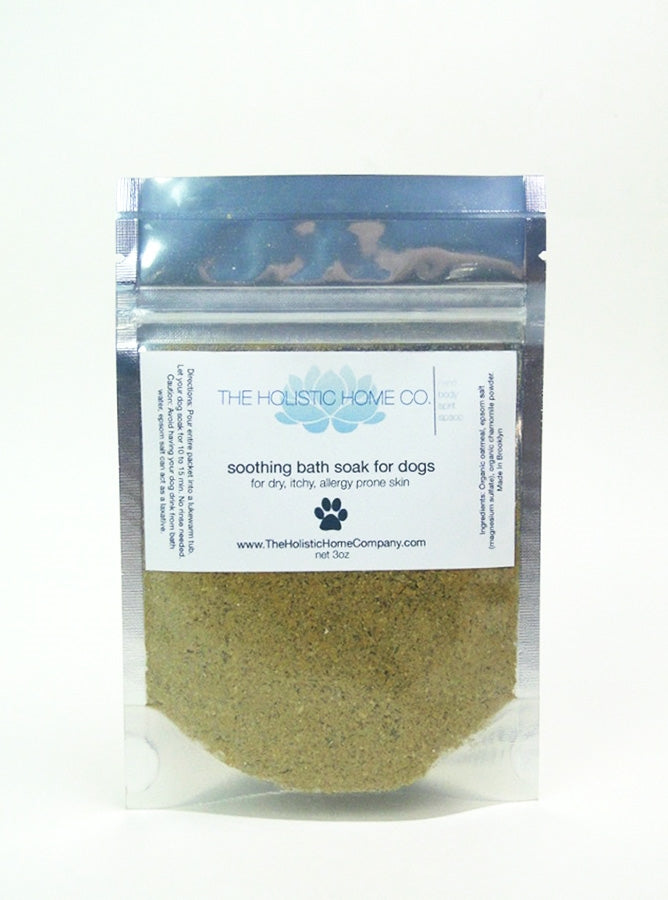 Soothing Bath Soak for Dogs