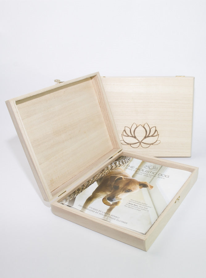 Signed Book in a Lotus Gift Box