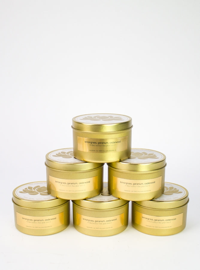 Limited Edition Gold Lux Tin