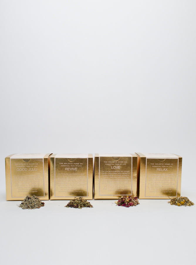 Four Essential Teas of Life Collection