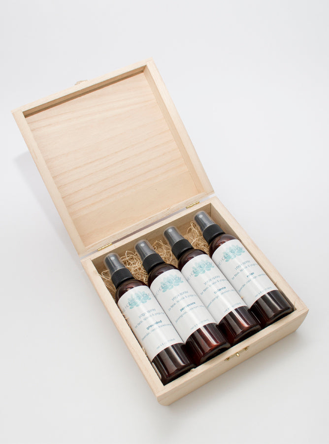 Yoga Aromatherapy Sprays Deluxe Set