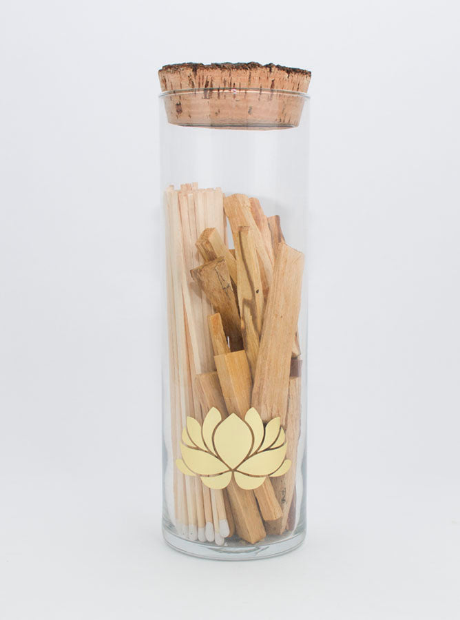 Long Matches and Palo Santo Set