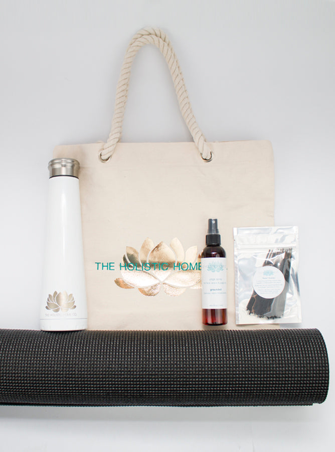 Gold Lotus Wellness Bag