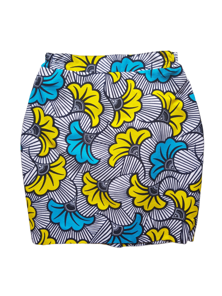Culottée - Blue & Yellow