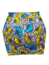 Load image into Gallery viewer, Culottée - Blue & Yellow