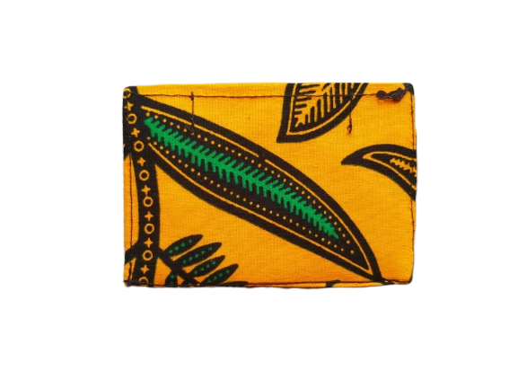 The Simple Wallet - Flowering Yellow