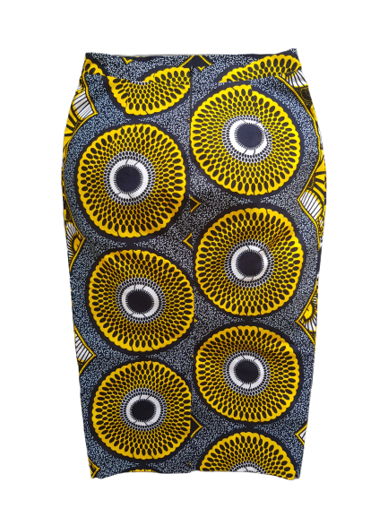 Sikha Skirt L'Audacieuse Yellow Flower