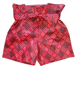 Sikha Short Baroudeuse Red Chess