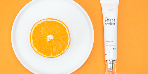 the effect series vitamin C brightening antioxidant serum increase cellular production