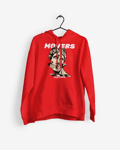 Movers Glitched Hoodie (White Lettering)