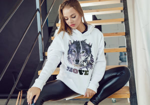Movers Clothing Wolf Hoodie
