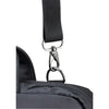 d'ring and dog clip attachment for laptop bag
