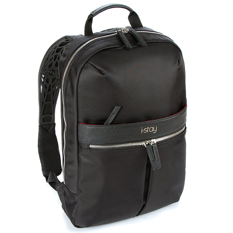 "i-stay Onyx Ladies Laptop Backpack - Black (is0603, 15.6"" and Up to 12"")"