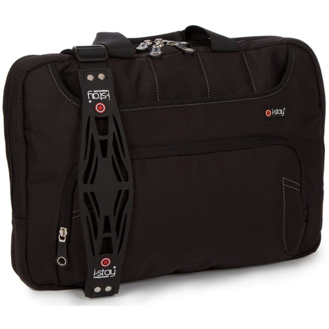 "i-stay Fineline Laptop / Tablet Organiser Bag - Black (is0303, 15.6"" & Up to 12"")"