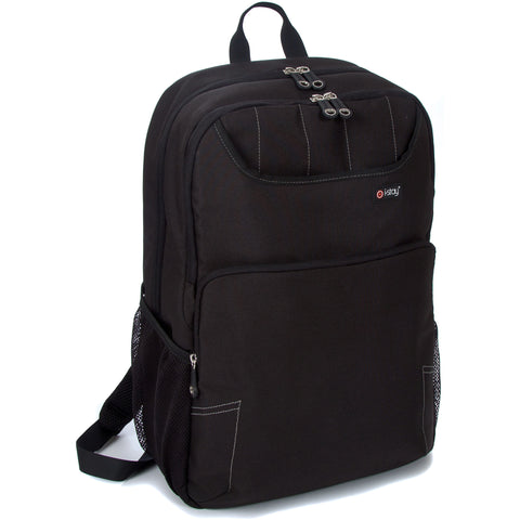 "i-stay Fineline Laptop / Tablet Rucksack - Black (is0304, 15.6"" & Up to 12"")"