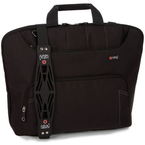 "i-stay Fineline Ladies Laptop / Tablet Bag - Black (is0305, 15.6 & Up to 12"")"