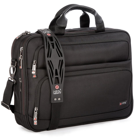"i-stay Fortis Laptop / Tablet Organiser Bag - Black (is0203, 15.6"" & Up to 12"")"