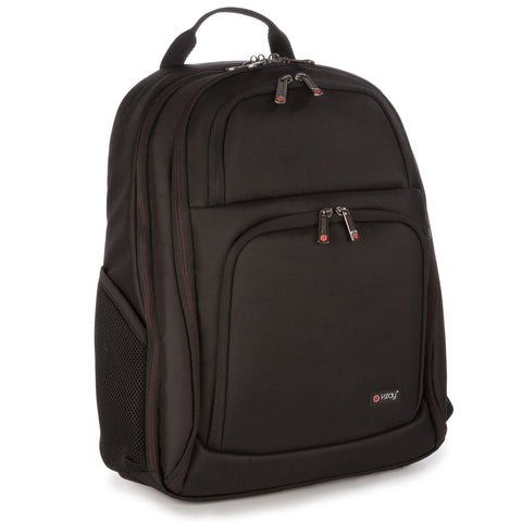 "i-stay Fortis Laptop / Tablet Rucksack - Black (is0204, 15.6"" & Up to 12"")"
