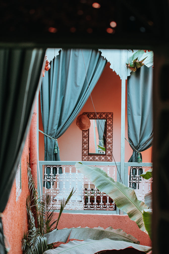Moroccan architecture in Marrakech