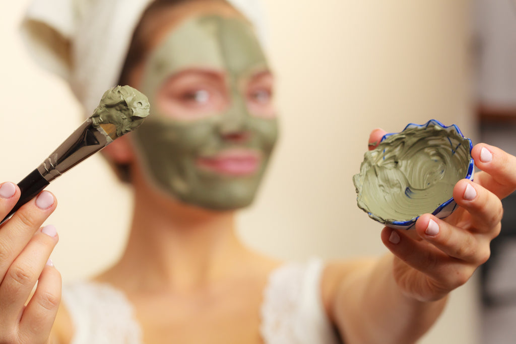 Pure Moroccan Green Clay Powder Mask for Oily & Acne-Prone Skin