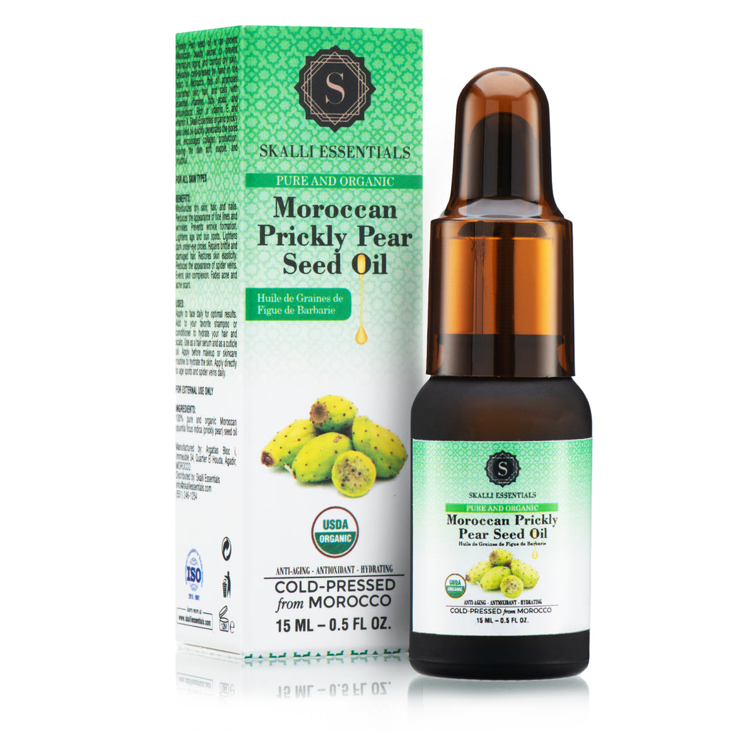 Moroccan Prickly Pear Seed Oil 15 ml