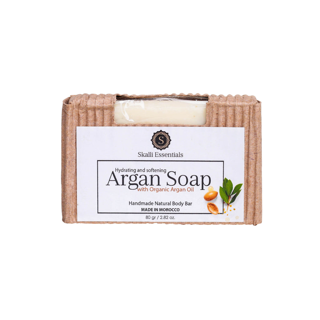 Organic Argan Oil Handmade Body Bar