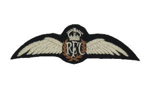 Royal Flying Corp Silk Wings with King's Crown (4344139284552)