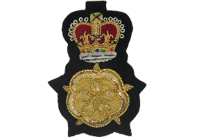 ENGLISH LORD LIEUTENANT CAP BADGE (4344131846216)
