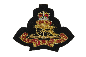 Royal Artillery Gun Beret Badge