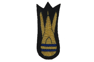 BOMB DISPOSAL MESS DRESS ARM BADGE (4334319304776)