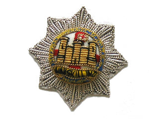 ROYAL DRAGOON GUARDS SIDE CAP & BERET BADGE (4334341816392)