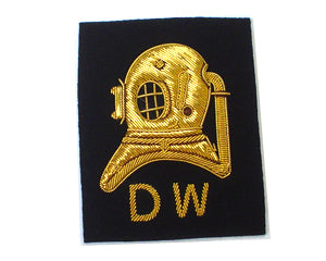 DIVERS HELM MESS DRESS S.W. OR D.W. ON NAVY OR RED (4334324744264)